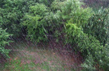 Времето ще е облачно с превалявания от дъжд