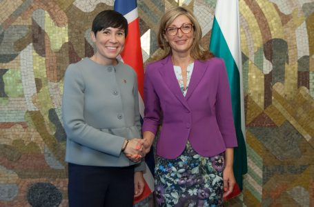 България и Норвегия се договориха да работят по съвместни проекти на Западните Балкани