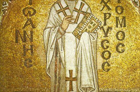 На 27 януари православната църква отбелязва пренасянето на мощите на Свети Йоан Златоуст