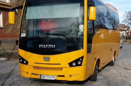 Нов автобус получи Професионалната гимназия в град Септември