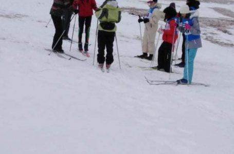 За поредна година на Юндола се провежда Националното първенство по ски бягане за ученици с нарушено зрение