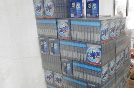 От 5 склада в Пазарджик са иззети почти 1 400 опаковки фалшив препарат за перални