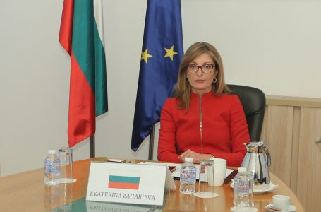 Екатерина Захариева: Основен приоритет за ЕС остава борбата с разпространението на коронавируса и подкрепата за икономиките