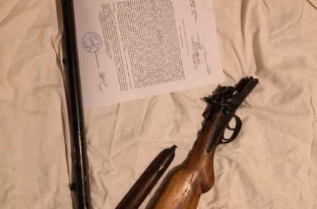 Иззеха незаконно оръжие на мъж от село Карабунар