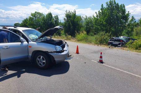 (Обновена)Тежка катастрофа затруднява движението по пътя Пазарджик-Пловдив